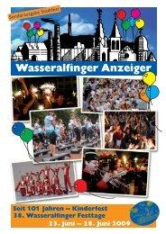 Sonderausgabe zu Festtagen 2009 - Stadt Aalen