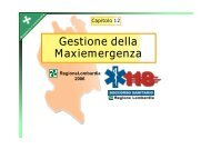 Gestione della Maxiemergenza - Formazione In Emergenza Sanitaria