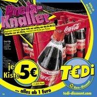 TEDi - Preis-Knaller - 06.05.2013
