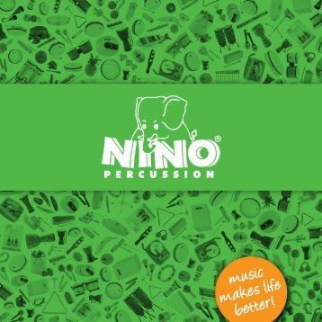Catalog Download - NINO® Percussion