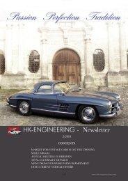 HK-ENGINEERING - Newsletter