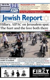 Hillary, AIPAC on Jerusalem spat: The hurt and the love both there