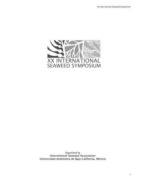 XX International Seaweed Symposium