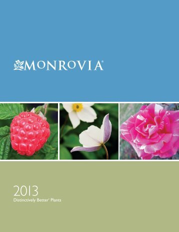 Monrovia's 2013 Catalog - Cascadian Nurseries