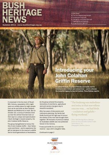 BUSH HERITAGE NEWS - Bush Heritage Australia