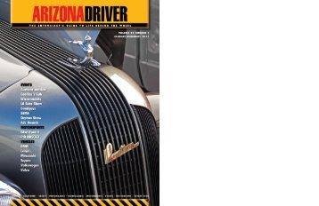 January-February 2013 - Arizona Driver Magazine