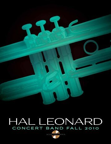 Download a pdf of the promotion (2.1 MB - Hal Leonard