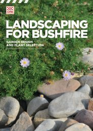 Landscaping for Bushfire - Country Fire Authority