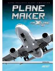 Download the Plane Maker Manual - X-Plane