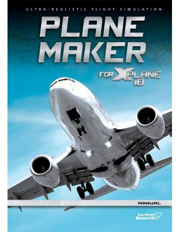 Download the Plane Maker Manual - X-Plane