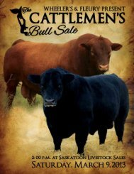 cattlemen's - Canadian Red Angus Promotion Society