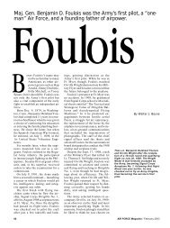 [PDF] Foulois - Air Force Magazine