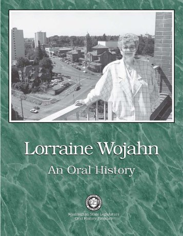 Senator Lorraine Wojahn