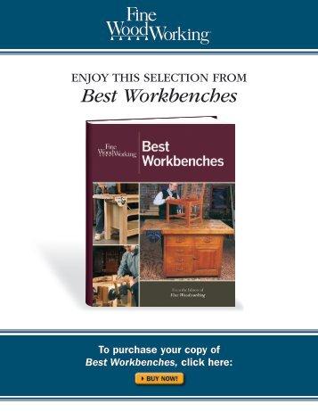 Best Workbenches - Fine Woodworking