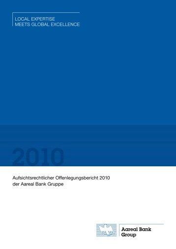 Offenlegungsbericht 2010 der Aareal Bank Gruppe - Aareal Bank AG