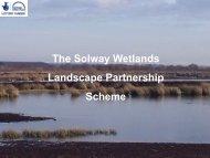 The Solway Wetlands Landscape Partnership Scheme