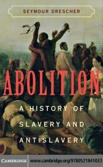 Abolition A History of Slavery and Antislavery - caring labor: an archive