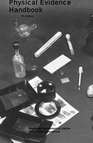 Physical Evidence Handbook - Crime Scene Investigator Network