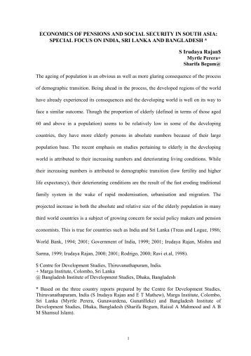 overview of the social security scheme in india esic scheme essay Esi scheme is a type of social security scheme for employees employees' state insurance corporation runs colleges in various cities across india in the.