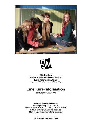 HeinrichMannGymnasium2008 29.10.2008