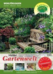 Garantiert - Gartenwelt Oppl