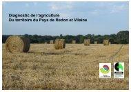 Diagnostic de l'agriculture Du territoire du Pays de Redon et Vilaine