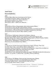Jaume Plensa Personal Exhibitions - Zane Bennett Contemporary Art