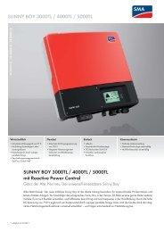 SB 3000-5000TL-21 - Enatek