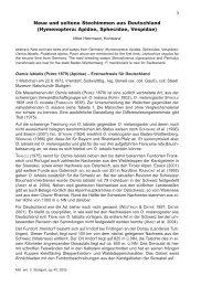 Neue und seltene Stechimmen aus Deutschland (Hymenoptera ...