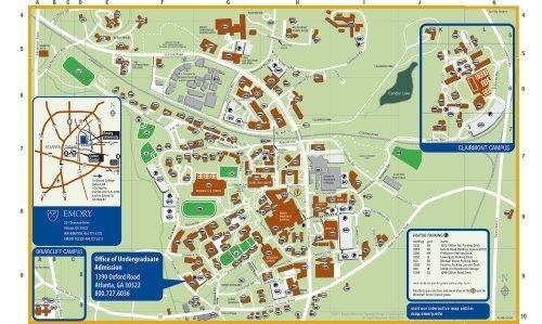 Emory University Campus Map Campus Map   Emory University