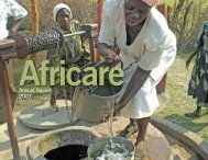 Annual Report 2007 - Africare
