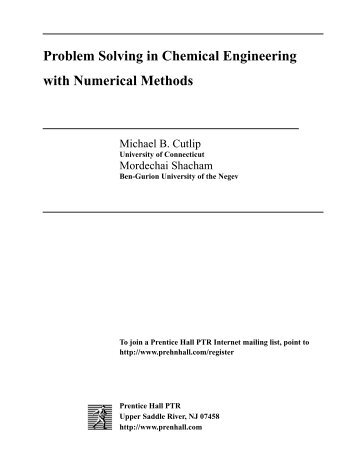 advances in chemical engineering pdf