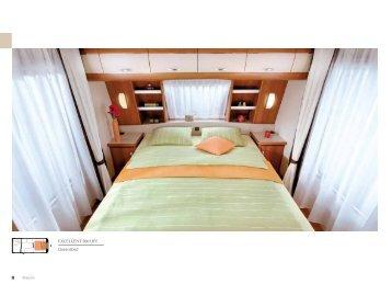 EXCELLENT 560 UFf Queensbed - Hobby Caravan