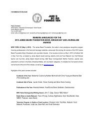 2012 Book, Broadcast & Journalism Award Winners Announced