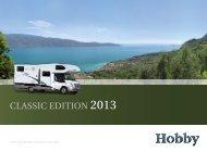 Siesta Katalogbeileger - Hobby Caravan