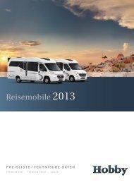 Preisliste 2013.pdf - Hobby Caravan