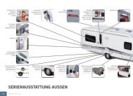 SERIENAUSSTATTUNG AUSSEN - Hobby Caravan