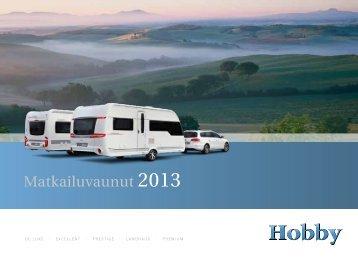 Matkailuvaunut 2013 - Hobby Caravan