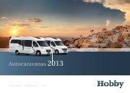 Autocaravanas 2013 - Hobby Caravan