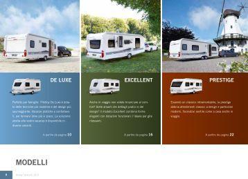 MODELLI - Hobby Caravan