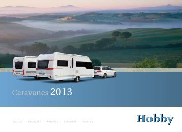 Caravanes 2013 - Hobby Caravan