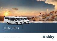 husbil 2013 - Hobby Caravan