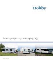 Betjeningsvejledning campingvogn DK - Hobby Caravan