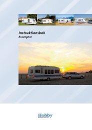 Instruktionsbok husvagnar - Hobby Caravan