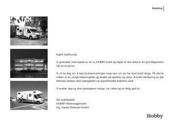 Kapittel 1 - Hobby Caravan