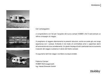 Sicurezza - Hobby Caravan