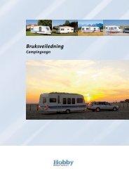 Bruksveiledning Campingvogn - Hobby Caravan