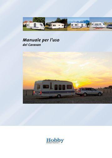 Manuale per l'uso - Hobby Caravan