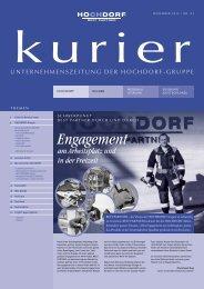 Kurier Nr. 93 - Hochdorf Nutritec AG