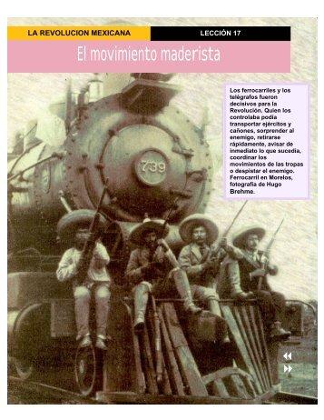 El movimiento maderista - Conevyt